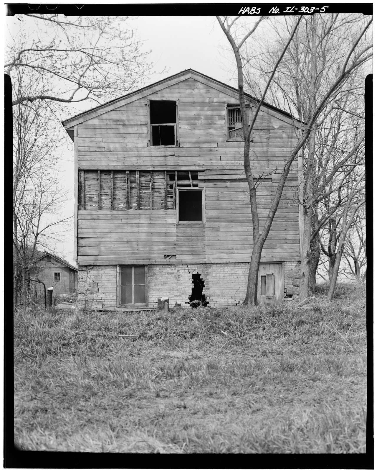 Mowry Brown House, State Route 2, Owen Township, Rockford, Winnebago County, IL