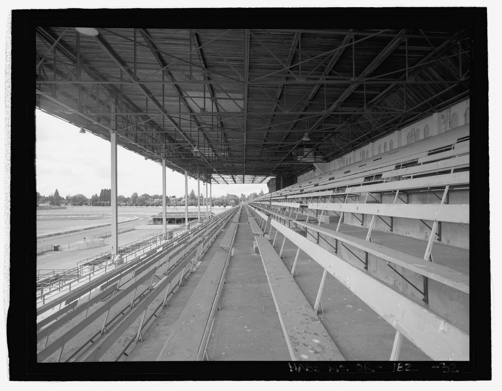 Oregon State Fairgrounds Grandstand, 2330 Seventeenth Avenue, Northeast, Salem, Marion, OR