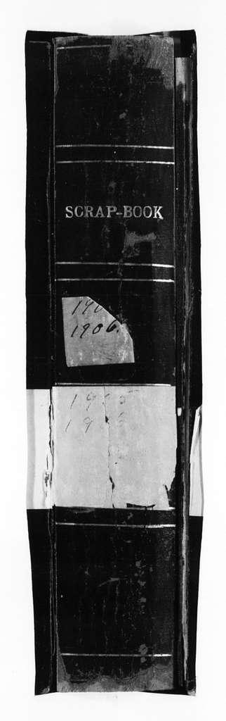 Susan B. Anthony Papers: Scrapbooks, 1876-1934; 1905-1906; Vol. 1