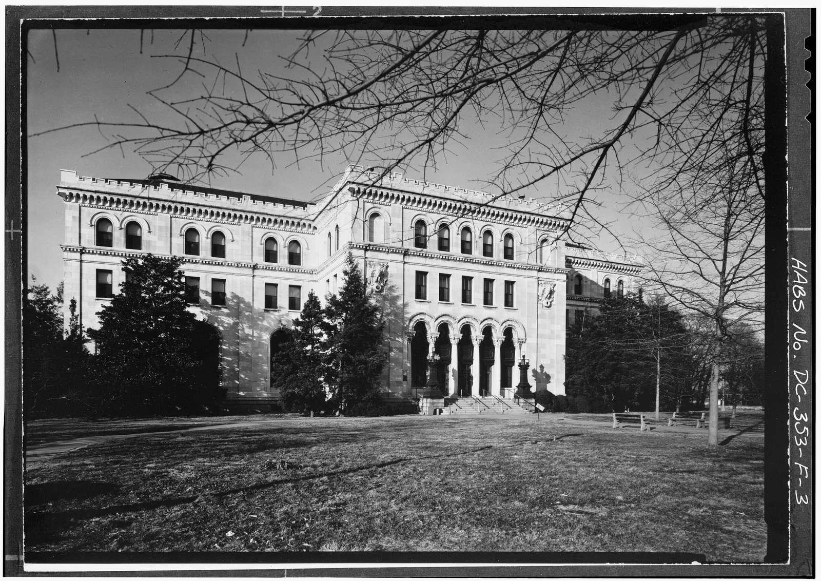 U.S. Soldiers Home, Grant Building, Rock Creek Church Road & Upshur Street Northwest, Washington, District of Columbia, DC