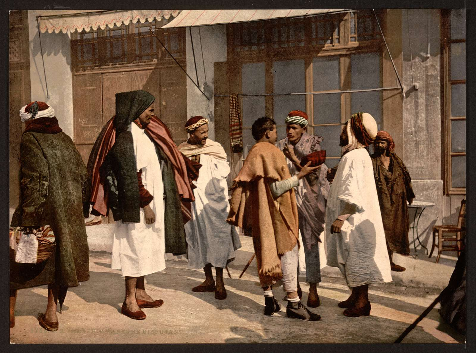 [Arabs disputing, Algiers, Algeria]