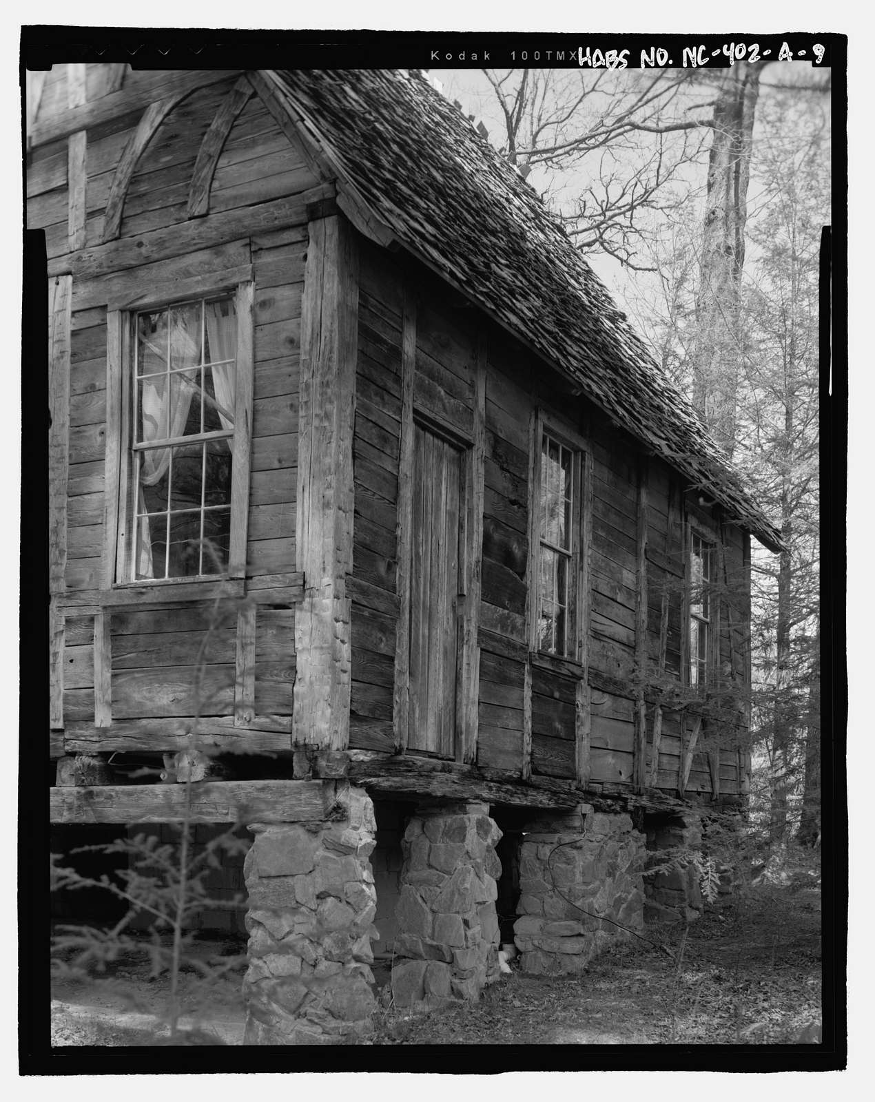 Biltmore Forestry School, Cantrell Creek Lodge, Brevard, Transylvania County, NC