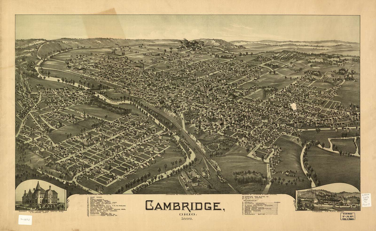 Cambridge, Ohio 1899 /