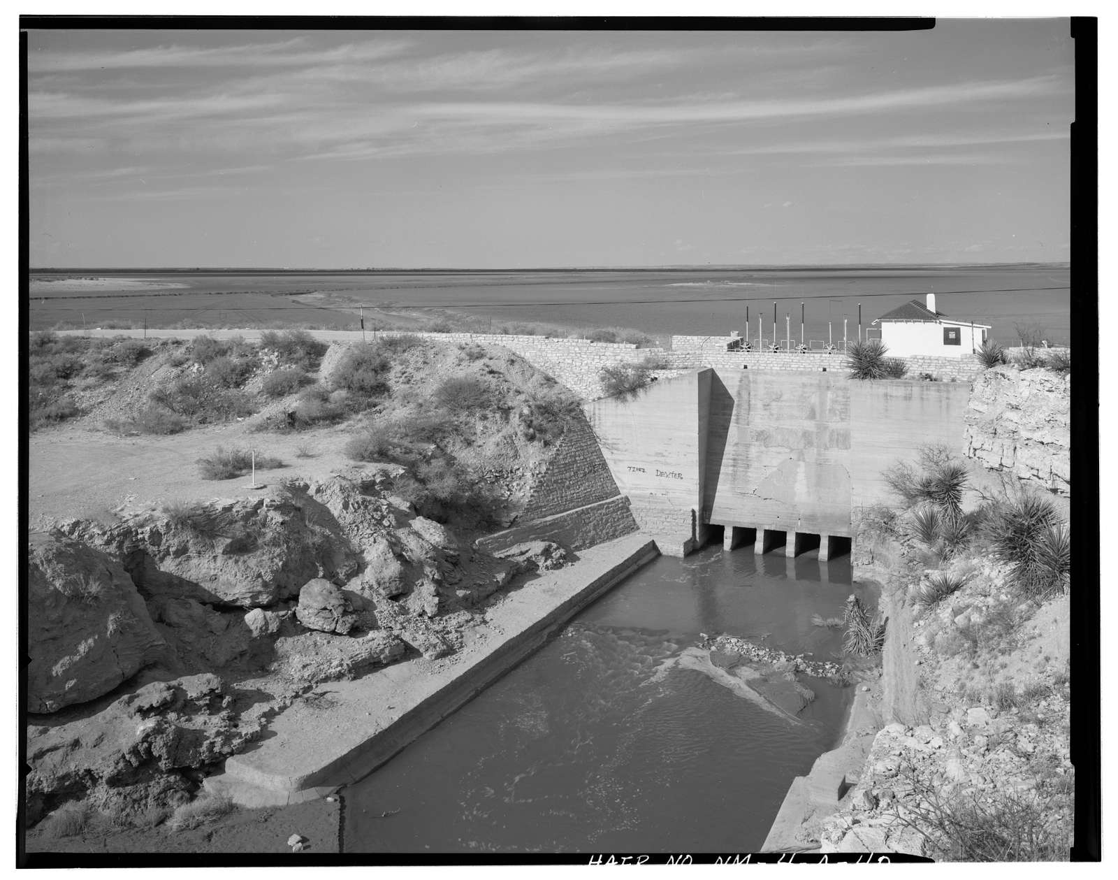Carlsbad Irrigation District, McMillan Dam, On Pecos River, 13 miles North of Carlsbad, Carlsbad, Eddy County, NM