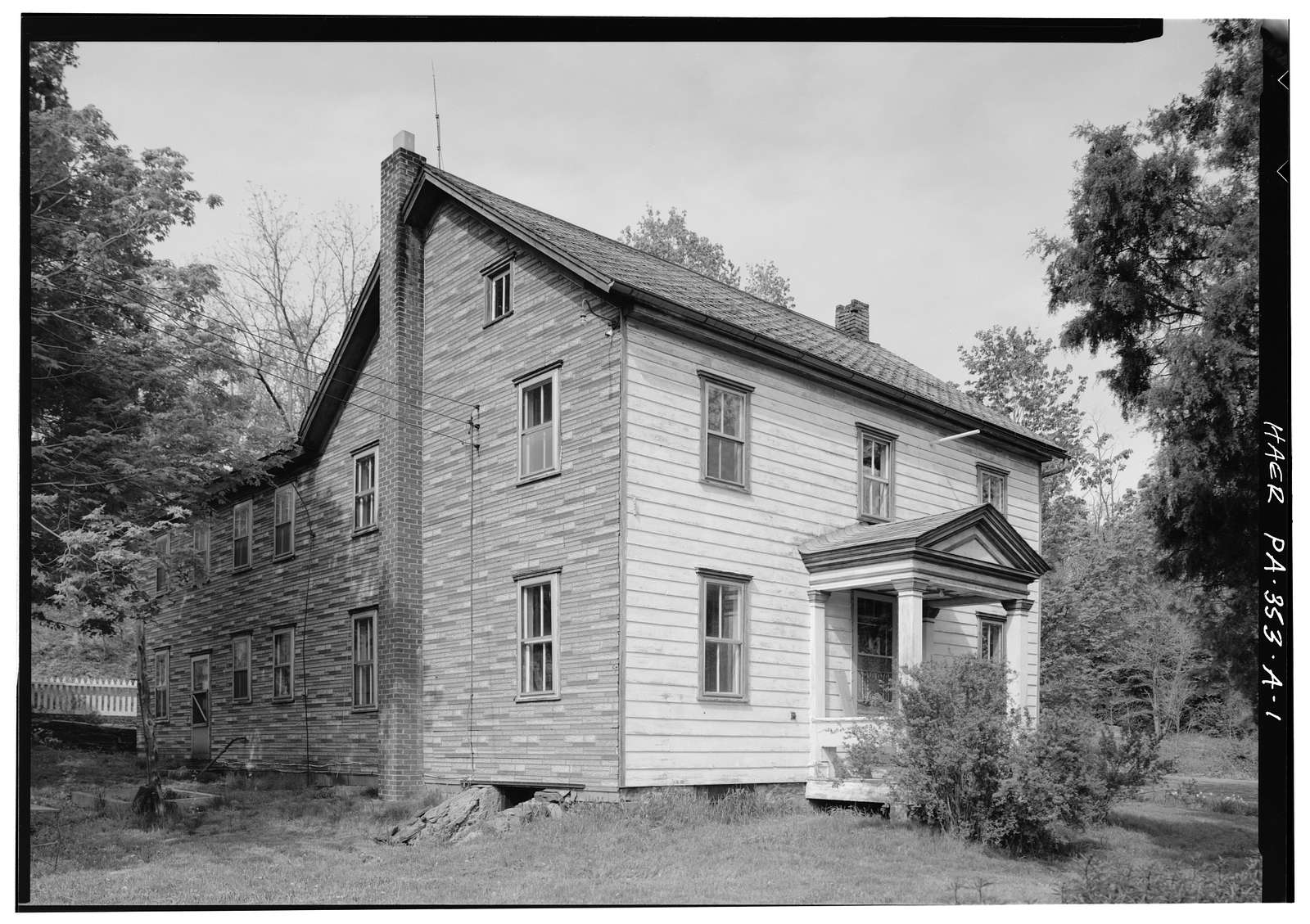 Jackson's Mill, Miller's House, West of Township Route 412 & Township Route 409 junction, Breezewood, Bedford County, PA