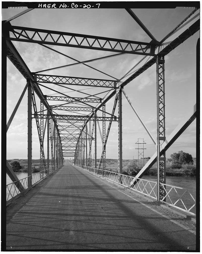 Manzanola Bridge, State Highway 207, spanning Arkansas River, Manzanola, Otero County, CO