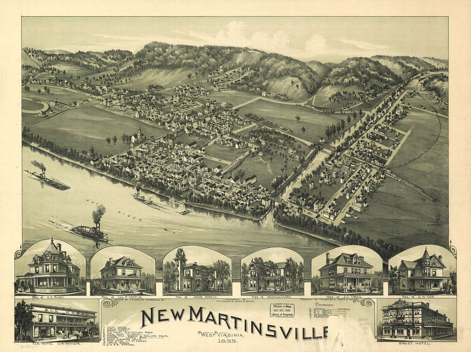 New Martinsville, West Virginia 1899.