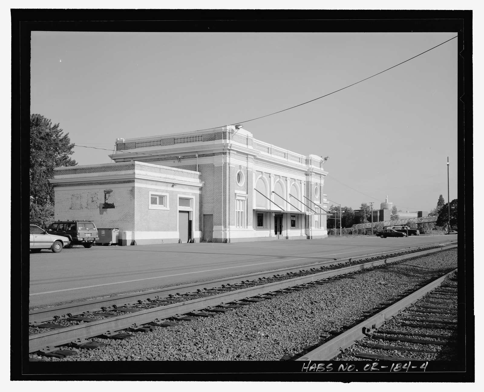 Salem Passenger Station & Freight Depot, 500 Thirteenth Street Southeast, Salem, Marion, OR