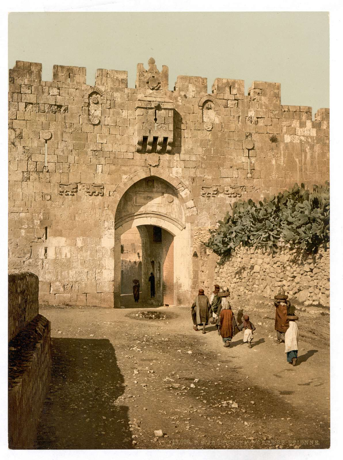 [St. Stephen's Gate, Jerusalem, Holy Land]