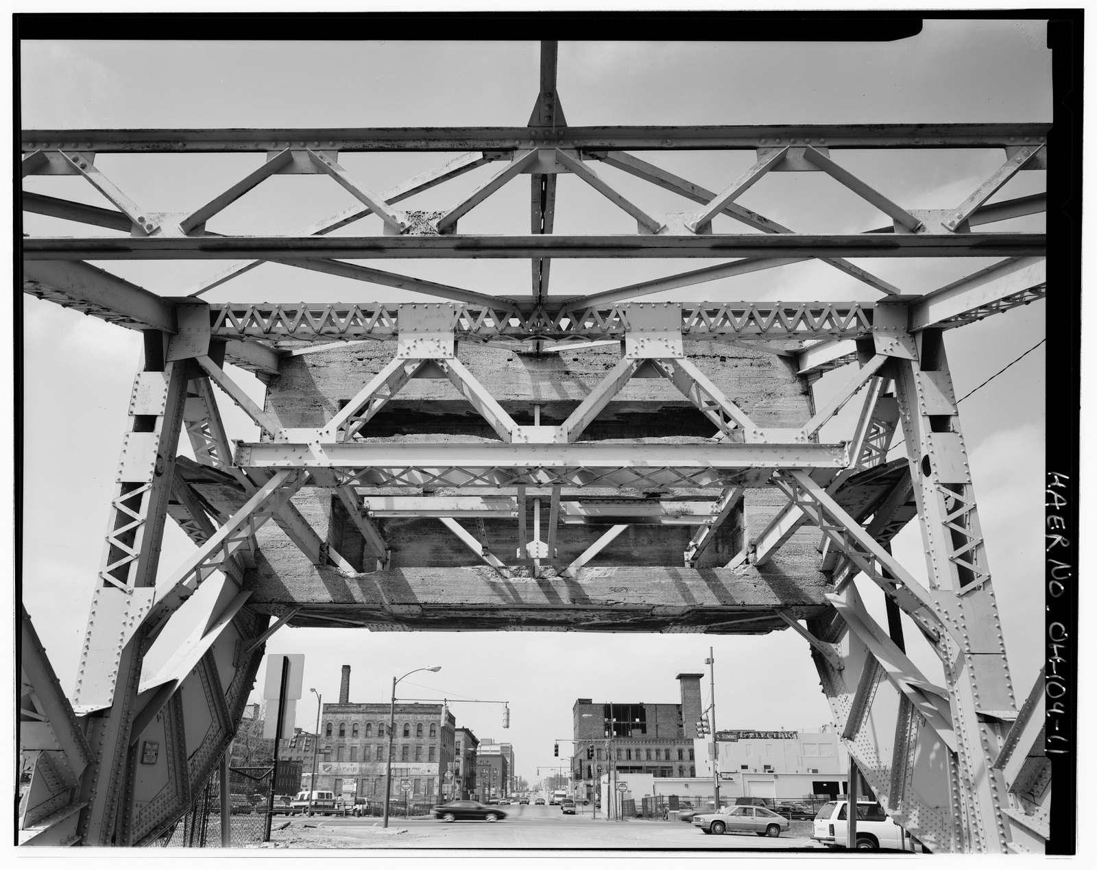 Washington Street Bridge, Spanning Swan Creek (former Miami & Erie Canal), Toledo, Lucas County, OH