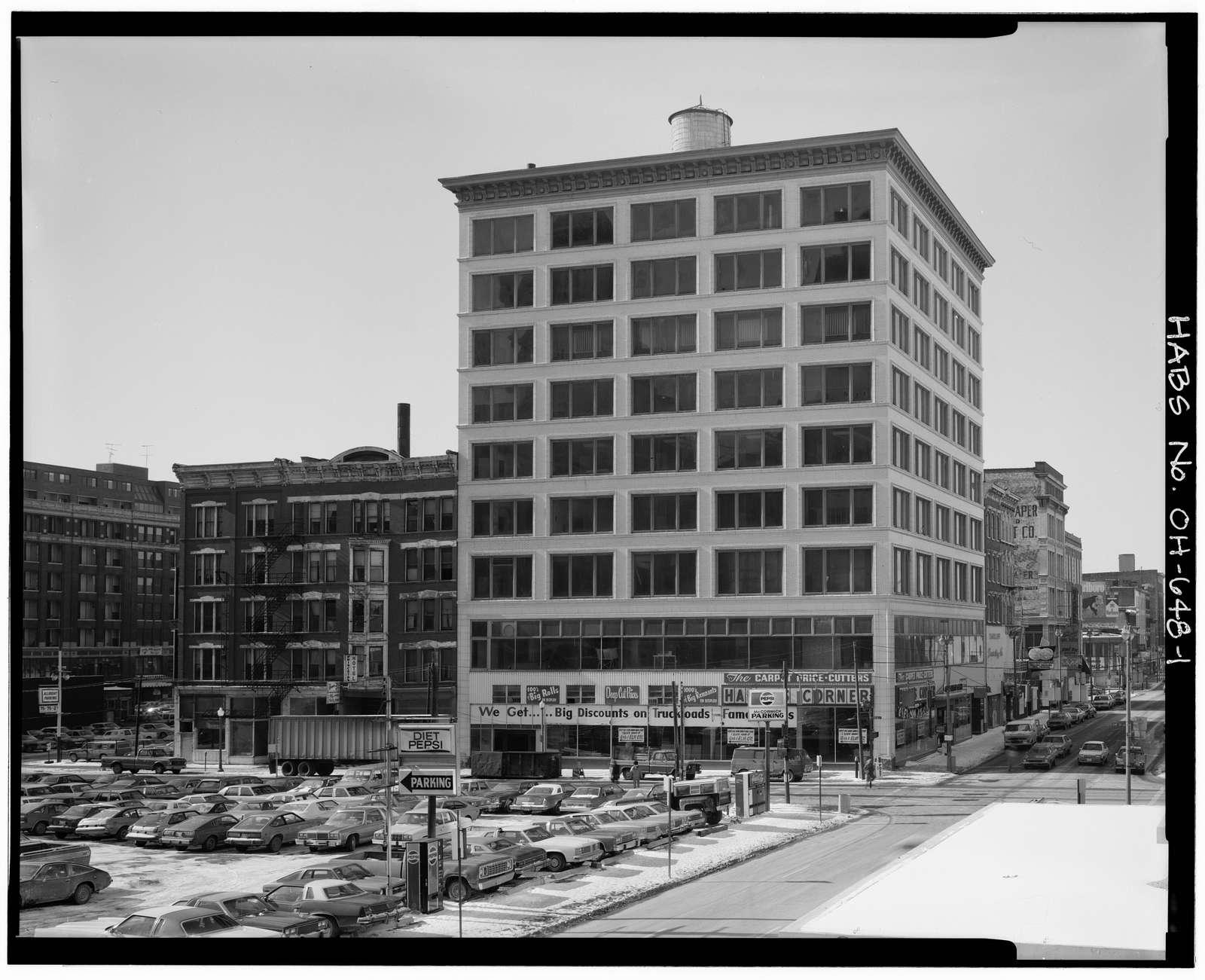 201-205 West Fifth Street (Commercial Building), Cincinnati, Hamilton County, OH