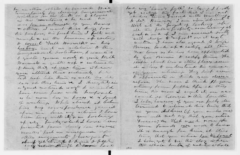 Alexander Hamilton Stephens Papers: General Correspondence, 1784-1886; 1858, Dec. 11-1859, July 15