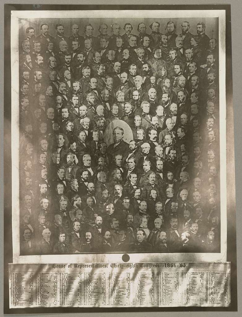House of Representatives, thirty-eighth Congress - 1864-'65