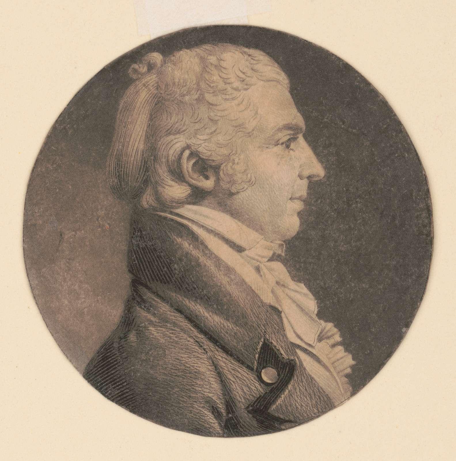 [James Brown, Sr., head-and-shoulders portrait, right profile]