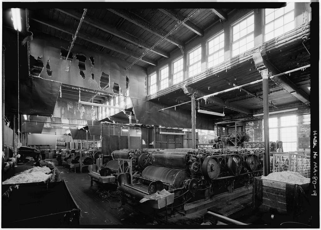 Norfolk Manufacturing Company Cotton Mill, 90 Milton Street, Dedham, Norfolk County, MA