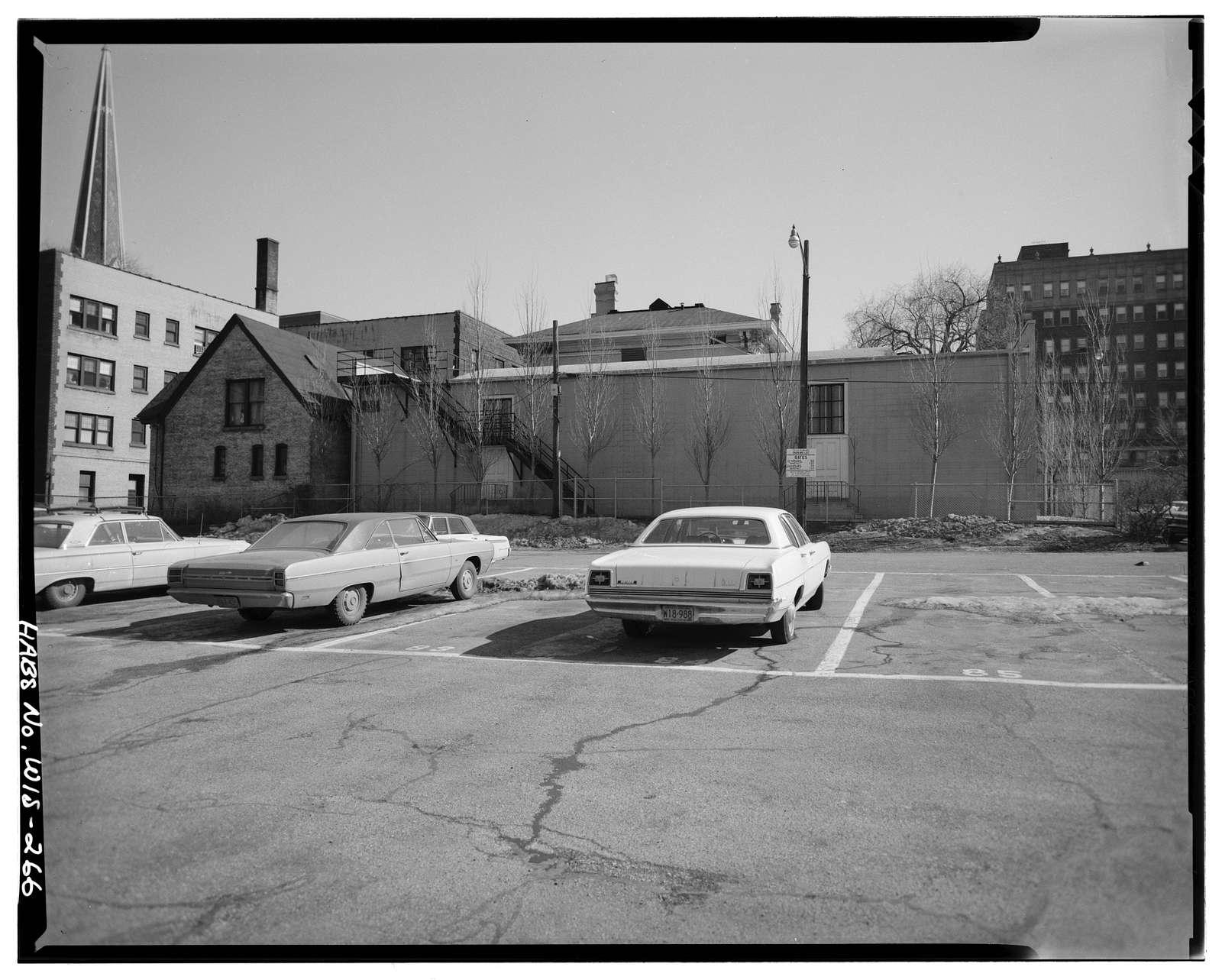 Robert P. Fitzgerald House, 1119 North Marshall Street, Milwaukee, Milwaukee County, WI