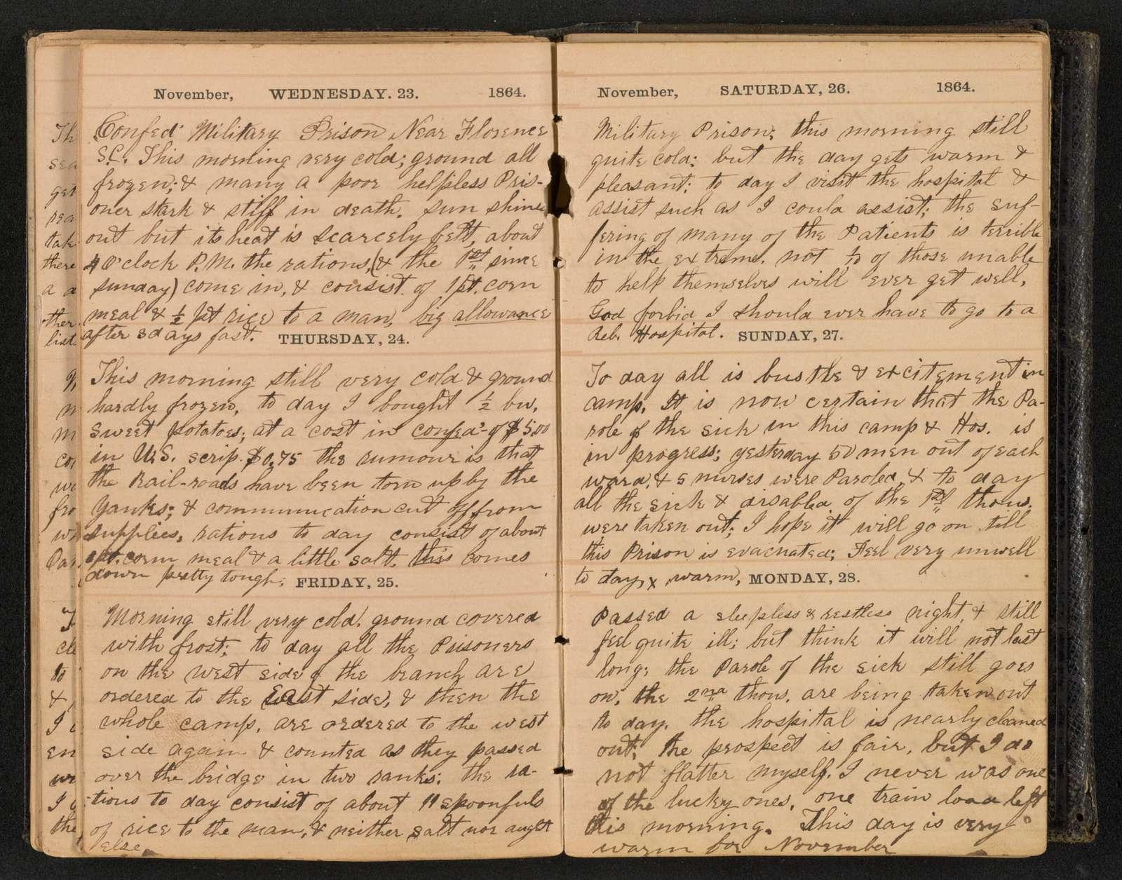 Samuel J. Gibson diary and correspondence,