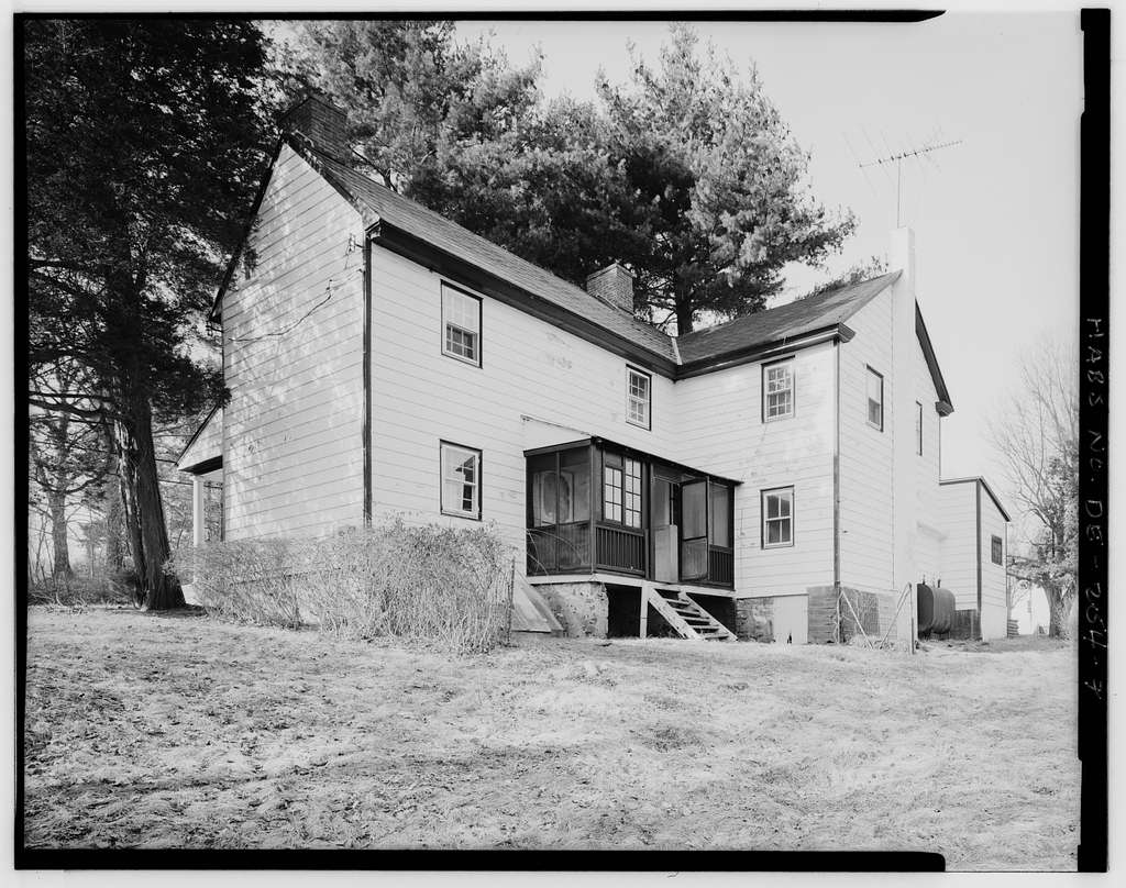 Barker House, 6001 Lancaster Pike (State Road 48), Wilmington, New Castle County, DE