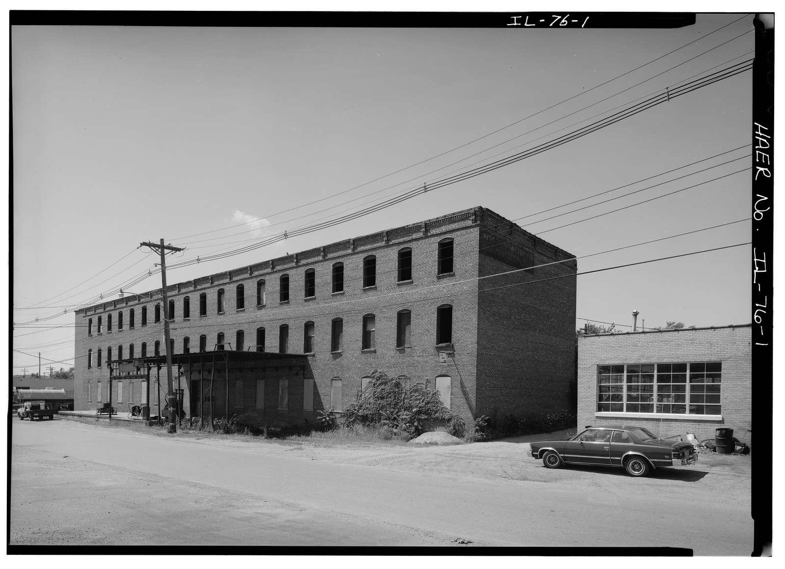 King & Hamilton Agricultural Implement Manufacturing Company, Clinton & Marquette Streets, Ottawa, La Salle County, IL
