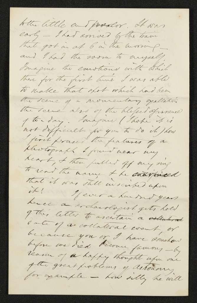 Lewis H. Machen Family Papers: Machen-Gresham Correspondence, 1871-1889; Machen, Arthur W., to Gresham, Minnie; 1872, Apr.-July