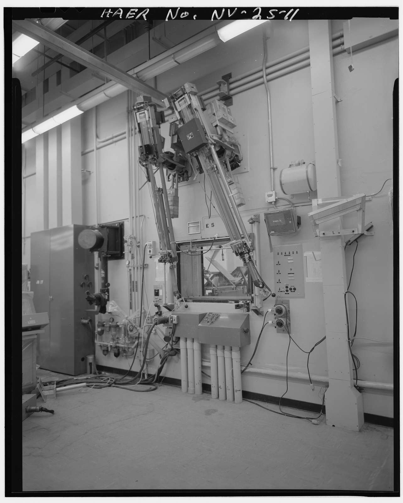 Nevada Test Site, Engine Maintenance Assembly & Disassembly Facility, Area 25, Jackass Flats, Mercury, Nye County, NV
