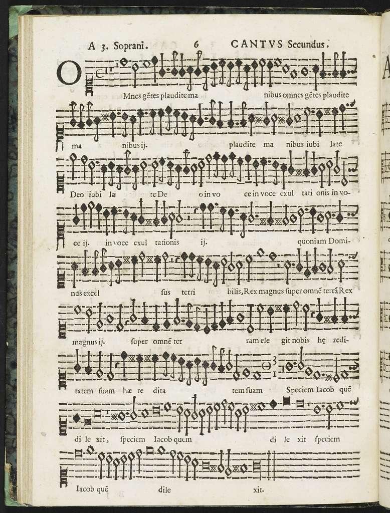 Sacrarvm cantionvm quae binis, ternis, quaternis, quinis, senis, septenis, octonis vocibus concinuntur cum basso ad organum ad Octauio Catalano Siculo Ennense : liber primus