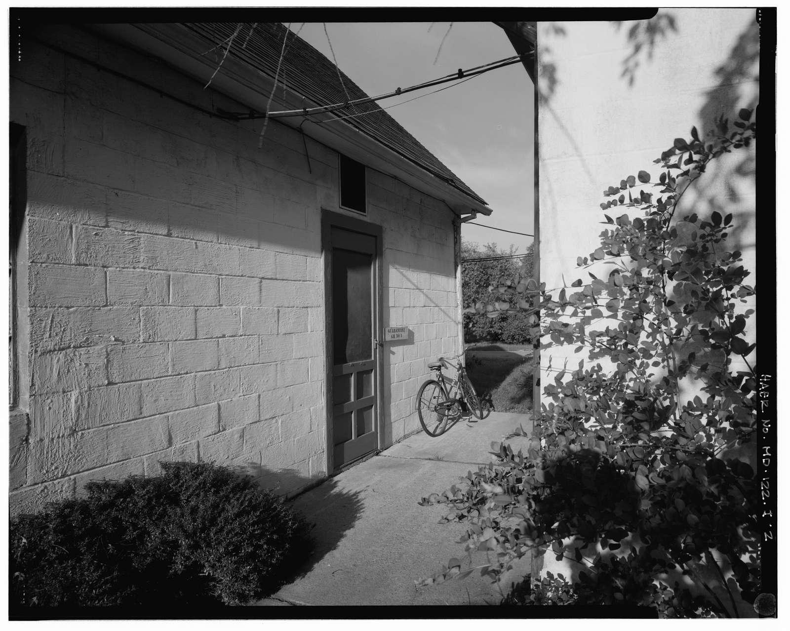 U.S. Plant Introduction Station, Quarantine Headhouses & Greenhouses, 11601 Old Pond Road, Glenn Dale, Prince George's County, MD
