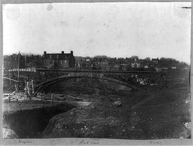 Washington Aqueduct, bridge no. 6, connecting Washington & Georgetown