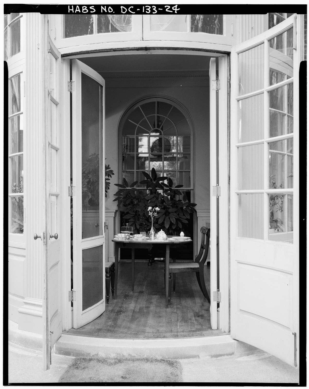 Woodrow Wilson House, 2340 South S Street, Northwest, Washington, District of Columbia, DC