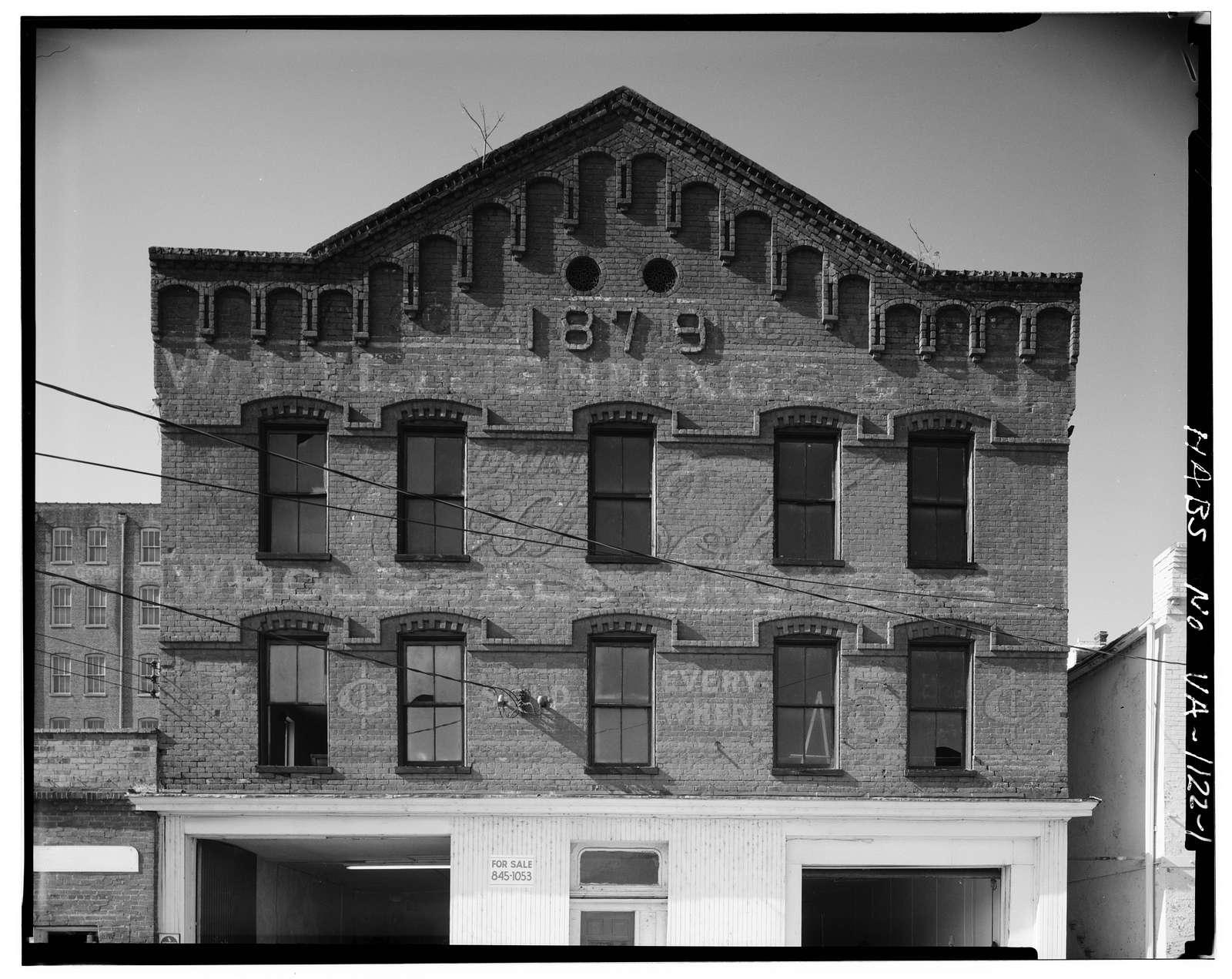 1879 Building, Jefferson Street between Eighth & Ninth Streets, Lynchburg, Lynchburg, VA