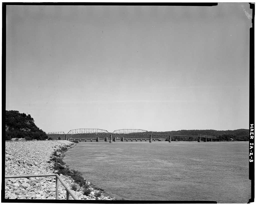 Eagle Point Bridge, Dubuque, Dubuque County, IA