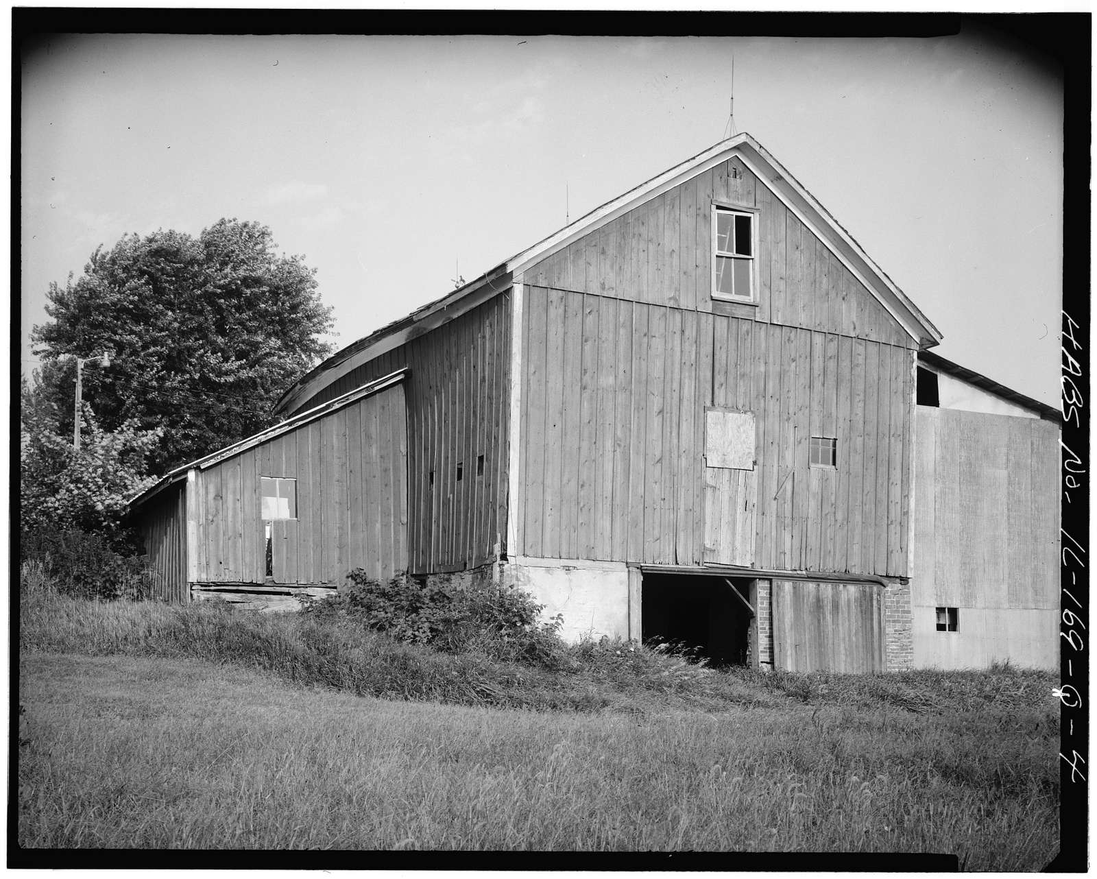 Jansonist Colony, Olson Barn, Park Street, Bishop Hill, Henry County, IL