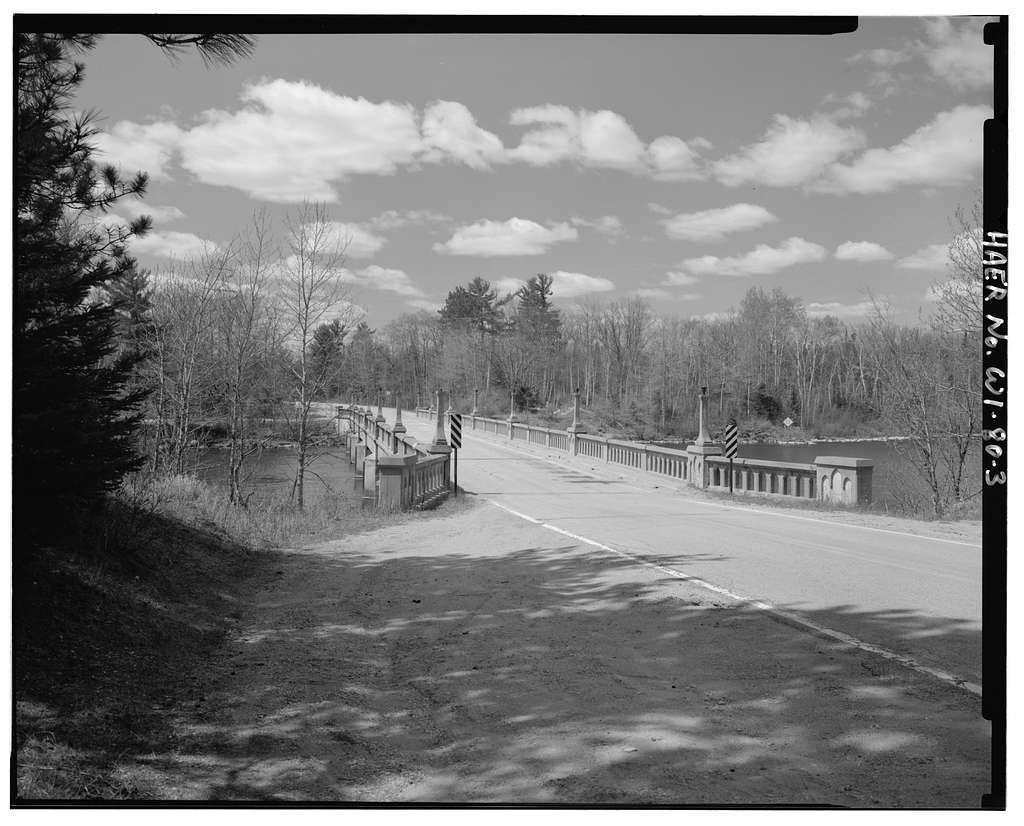 "Menominee River Bridge, Spanning Menominee River at County Truck Higway ""K"", Amberg, Marinette County, WI"