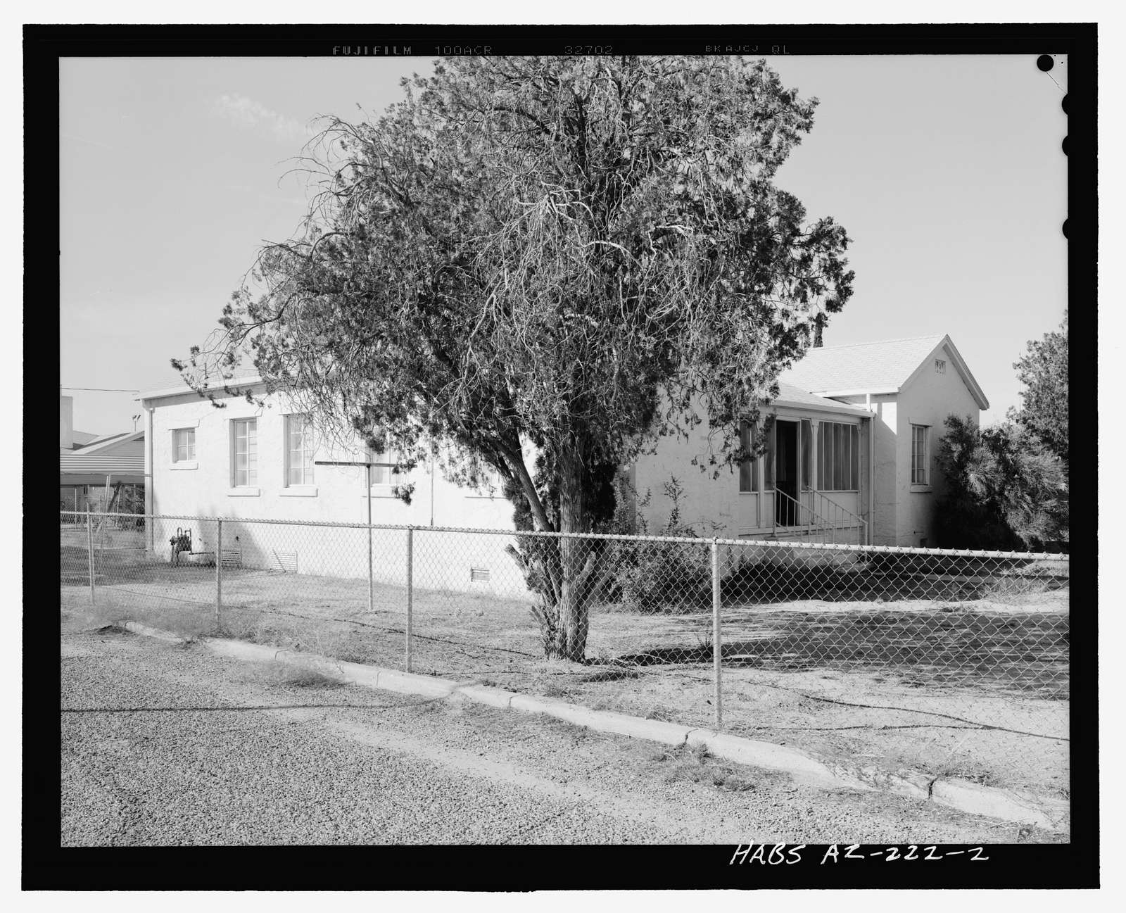 Sacaton Hospital Residence, 315 West Casa Blanca Road, Sacaton, Pinal County, AZ