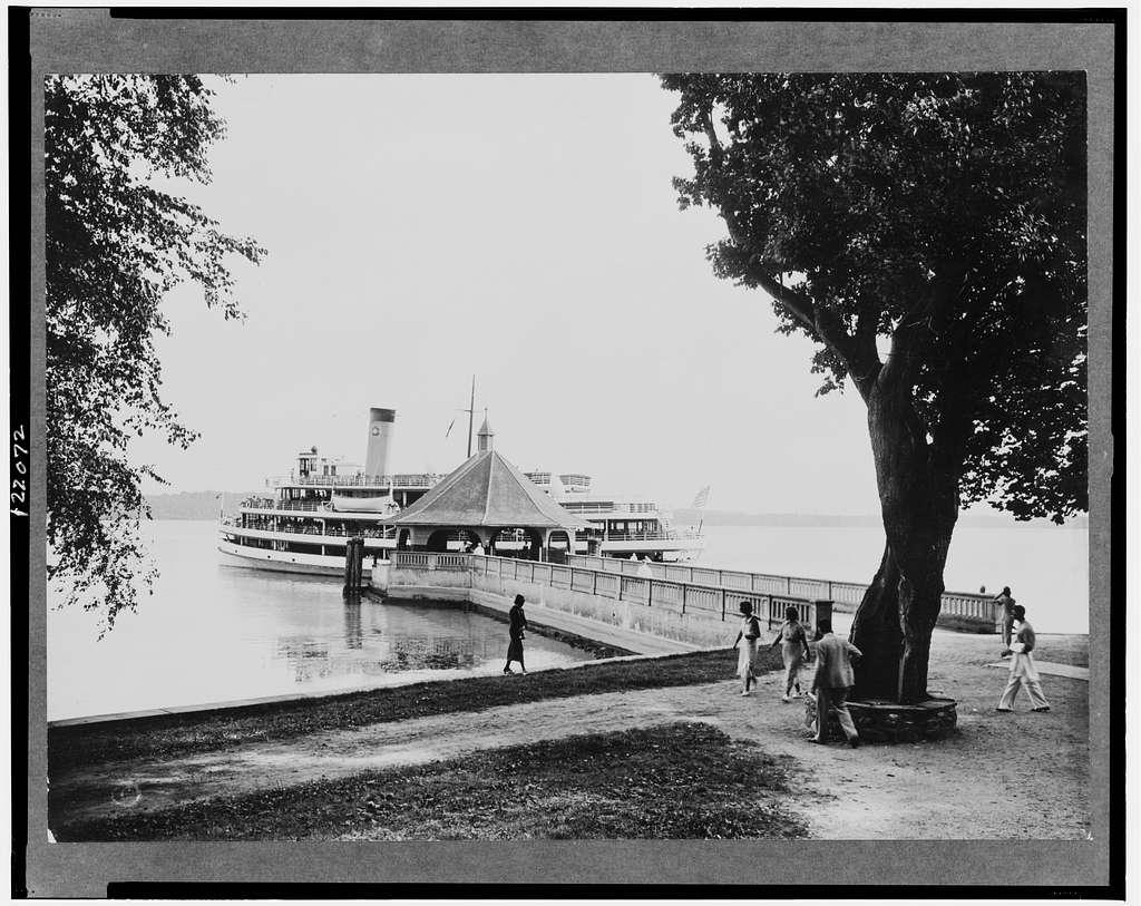 The wharf, Mount Vernon, Virginia