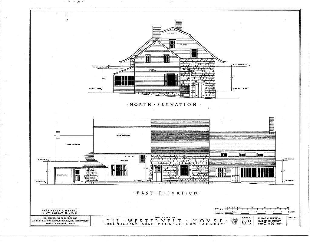 Westervelt House, 256 Tenafly Road, Tenafly, Bergen County, NJ
