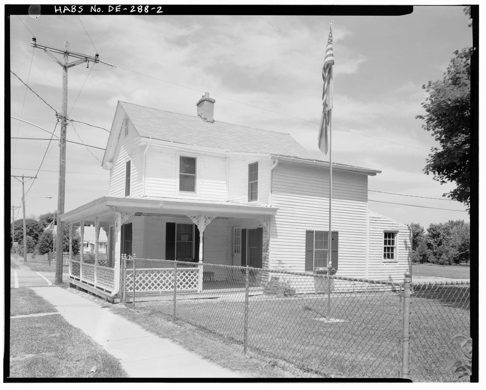 Canary-Naudine Store, Corner of Route 72 & Route 9, Port Penn, New Castle County, DE