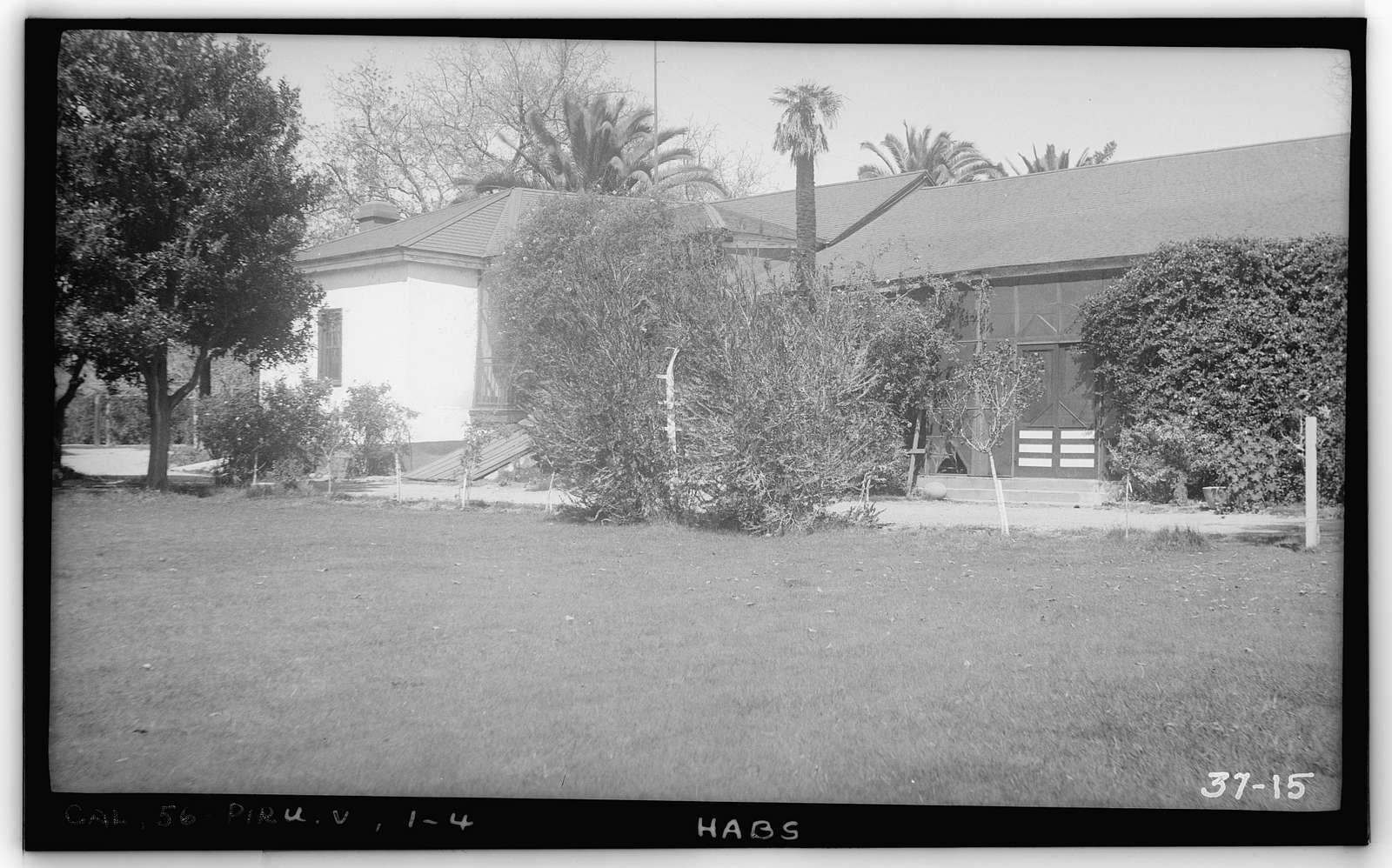 Casa Del Rancho Camulos, State Highway 12 (5164 East Telegraph Road), Piru, Ventura County, CA