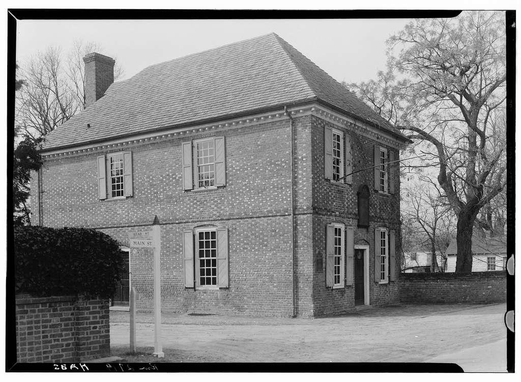 Customs House, Main & Read Streets, Yorktown, York County, VA