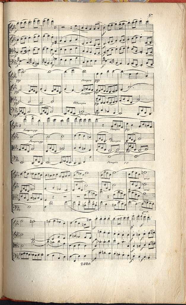 Grand quatuor pour deux violons, alto et violoncelle