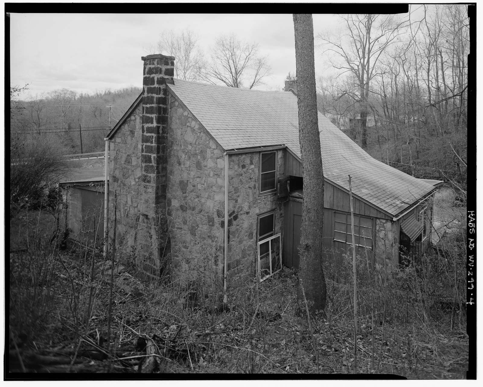 John Bly House, East side of County Road 857, just north of intersection with Quarry Run Road, Cheat Neck, Monongalia County, WV
