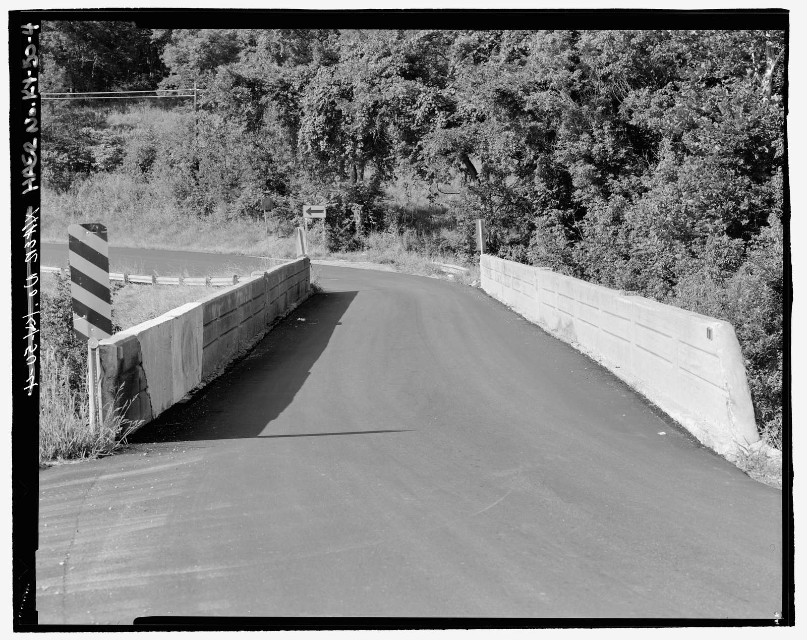 Kentucky Route 36 Bridge, Spanning Lick Fork Creek near Camp Northward, Williamstown, Grant County, KY
