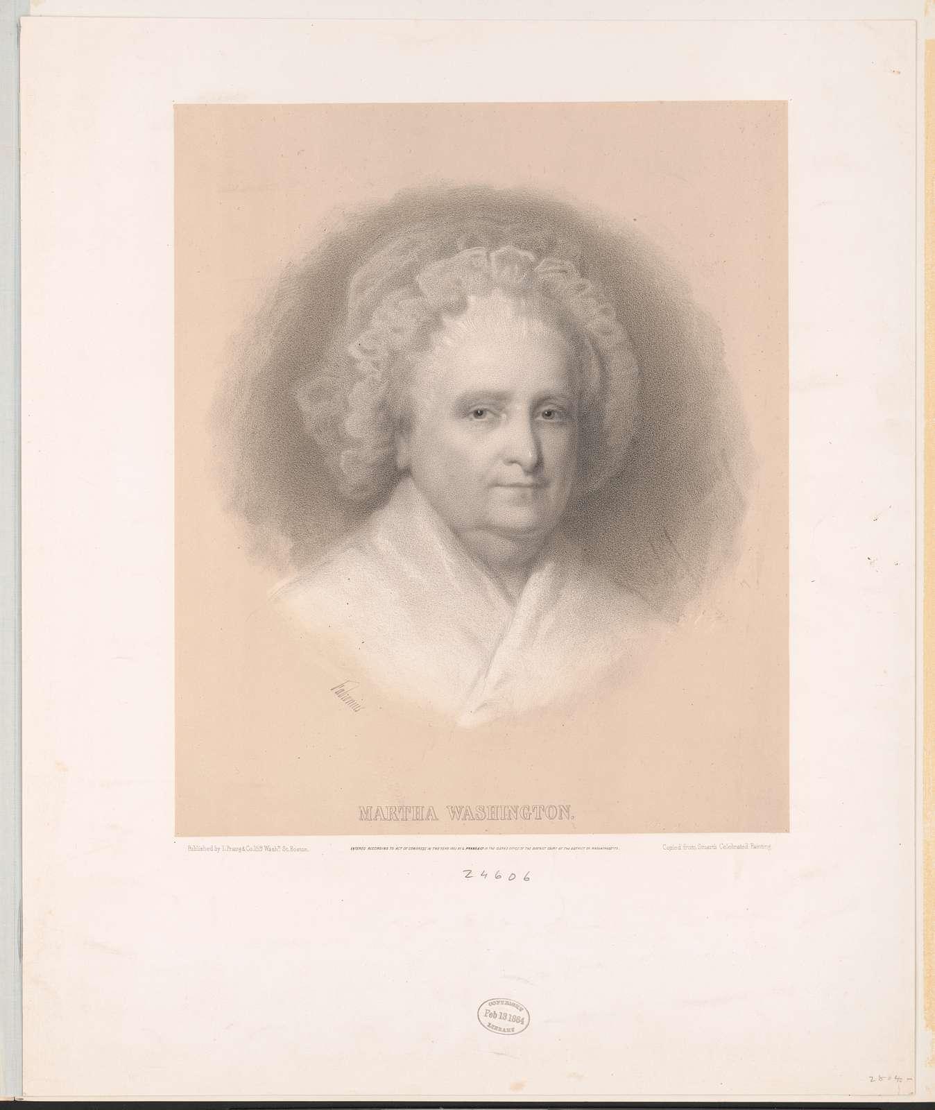 Martha Washington / published by L. Prang.