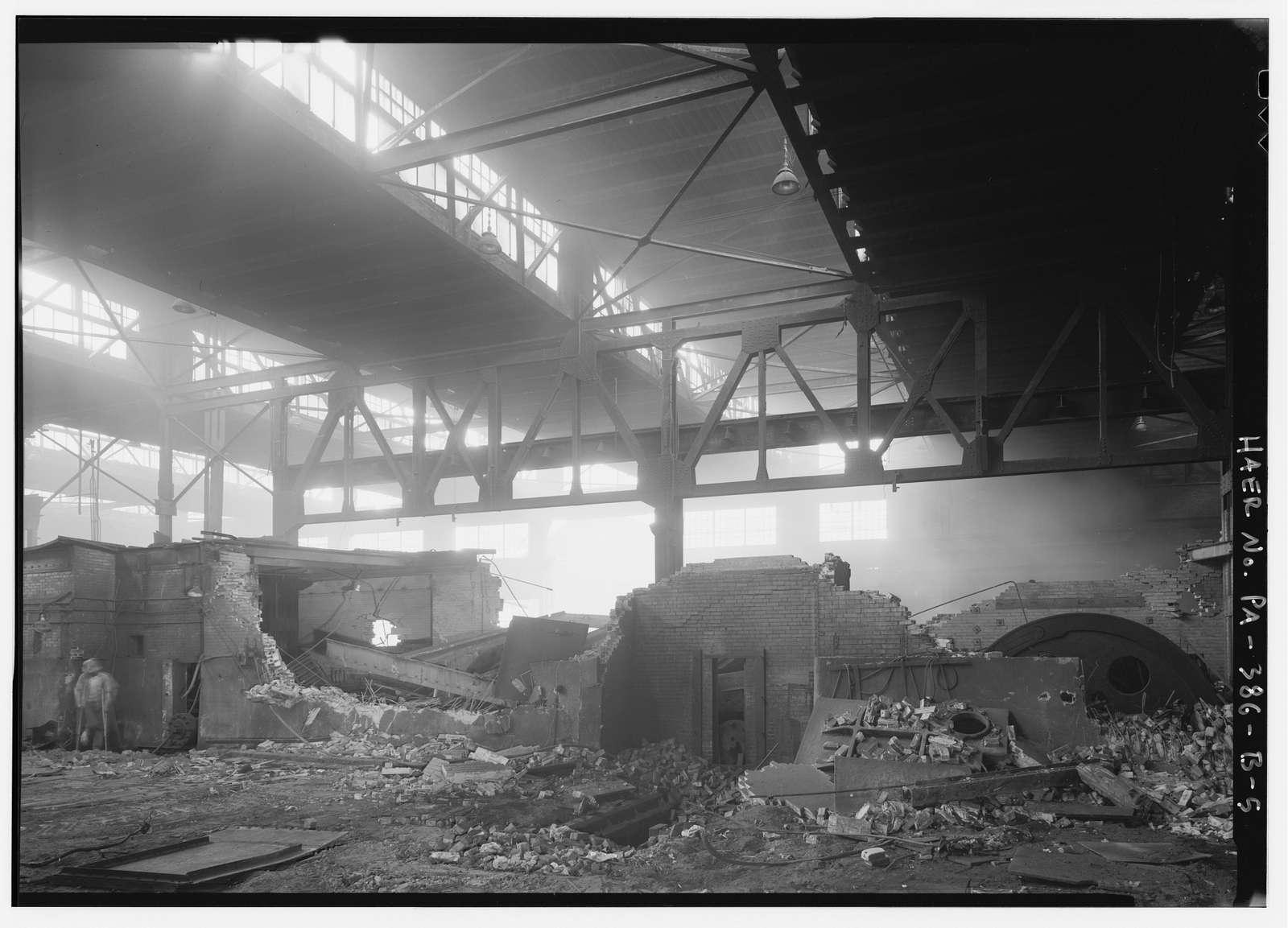 Bethlehem Steel Corporation, South Bethlehem Works, Rolling Mill, Along Lehigh River, North of Fourth Street, West of Minsi Trail Bridge, Bethlehem, Northampton County, PA