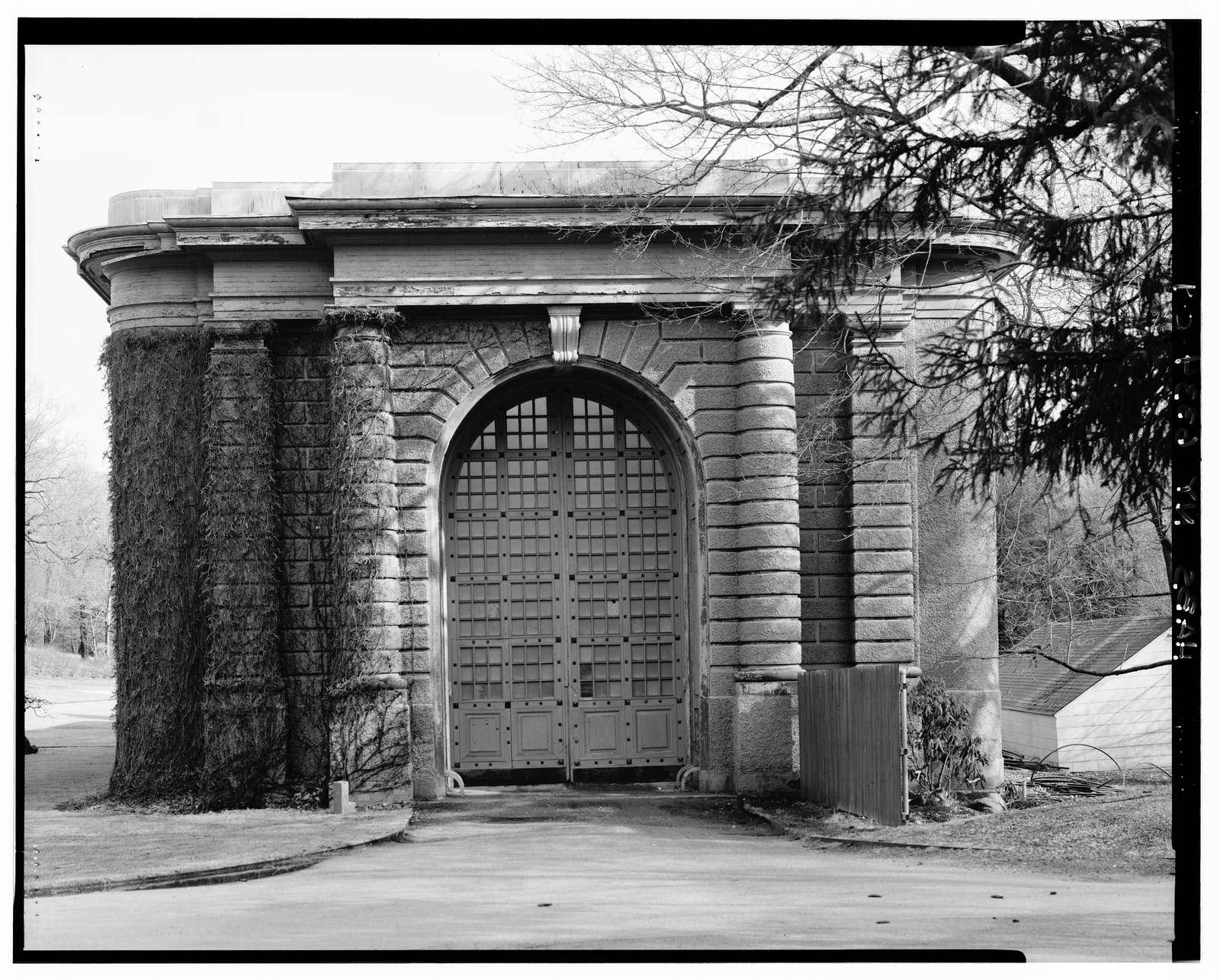 Kykuit, Orangerie & Greenhouse, 200 Lake Road, Pocantico Hills, Westchester County, NY