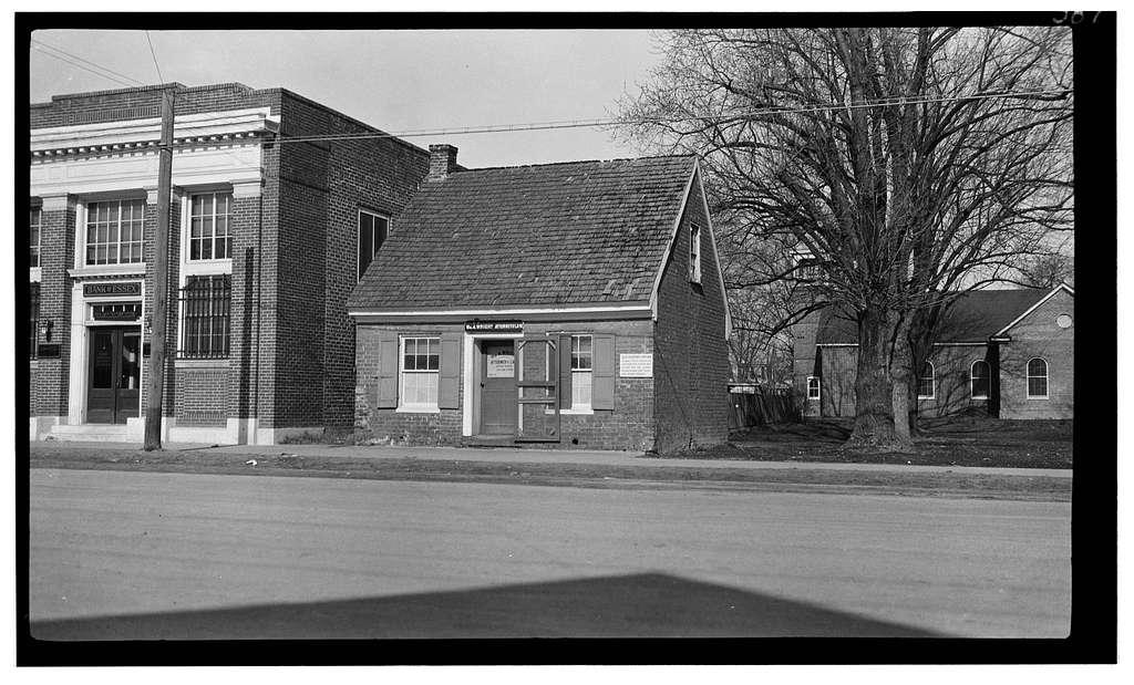 Old Lawyer's Office, 321 Prince Street, Tappahannock, Essex County, VA