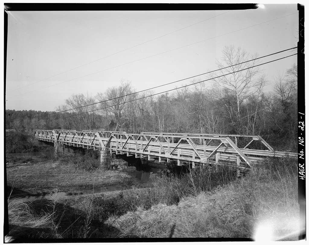 Bridge No. 28, Spanning Flatt River at State Route 1004, Durham, Durham County, NC