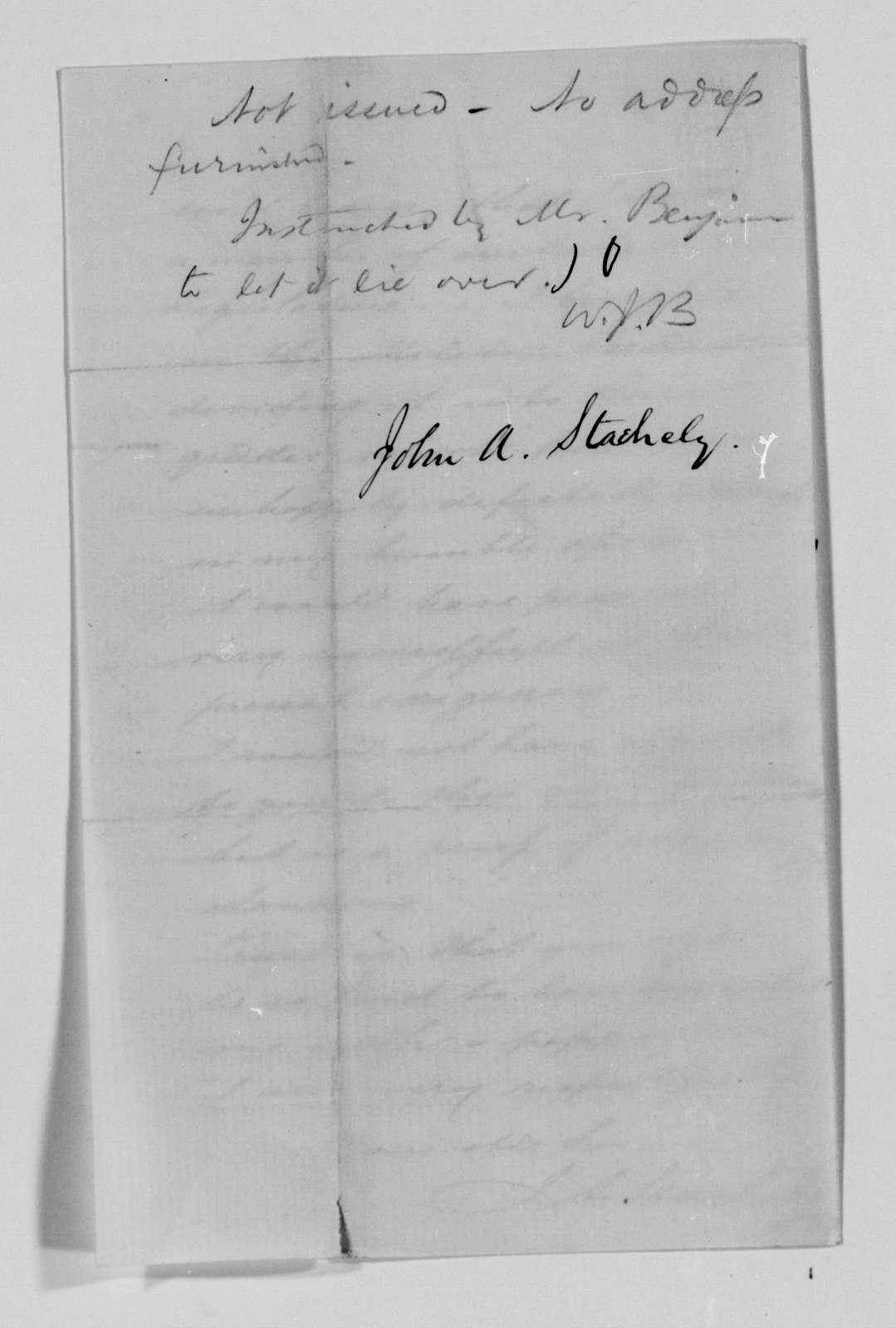 Confederate States of America records: Microfilm Reel 20