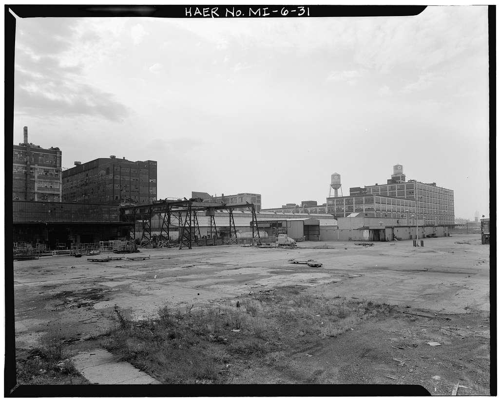 Dodge Brothers Motor Car Company Plant, Between Joseph Campau & Conant Avenues, Hamtramck, Wayne County, MI