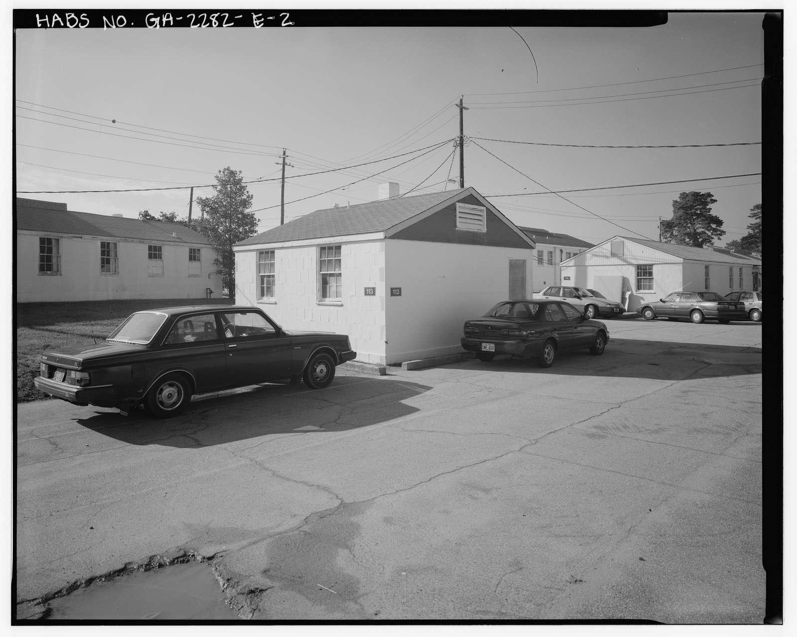 Fort McPherson, World War II Station Hospital, G. U. Treatment Unit Lavatory, Thorne & Hood Avenues, Atlanta, Fulton County, GA